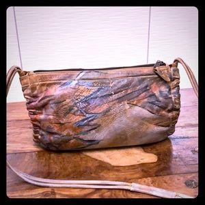🍁Jane Yoo handpainted/signed vintage shoulder bag